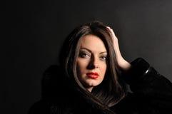 красивейший портрет девушки сексуальный Стоковая Фотография RF