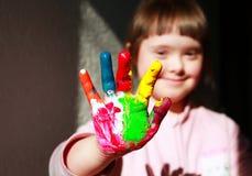 красивейший портрет девушки Стоковая Фотография RF