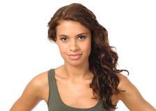 Красивейший портрет молодой женщины Стоковые Фотографии RF