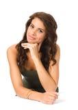 Красивейший портрет молодой женщины Стоковое фото RF