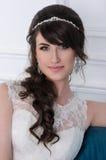 красивейший портрет невесты венчание заказа части платья Аксессуары свадьбы Стоковые Изображения