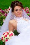 красивейший портрет невесты Стоковое Фото