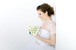 красивейший портрет невесты Стоковые Фотографии RF