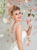 красивейший портрет невесты Стоковая Фотография