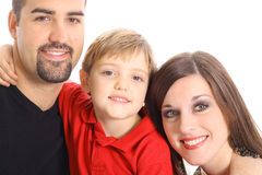 красивейший портрет семьи Стоковое фото RF