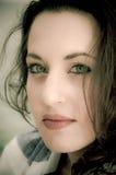Красивейший портрет способа девушки подростка Стоковое Фото