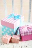красивейший подарок коробок Стоковое Изображение