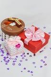 красивейший подарок коробок Стоковая Фотография RF