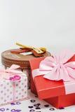 красивейший подарок коробок Стоковые Изображения RF