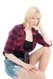 красивейший представлять девушки подростковый Стоковые Фото