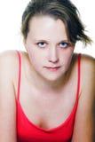 красивейший представлять девушки Стоковая Фотография