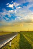 красивейший путь ландшафта Стоковая Фотография RF