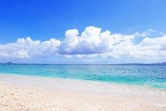 Красивейший пляж в Окинава Стоковое фото RF
