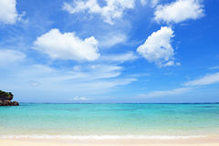 Красивейший пляж в Окинава Стоковое Изображение RF