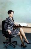 красивейший работник офиса Стоковое Изображение