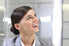 красивейший работник портрета офиса стоковое изображение