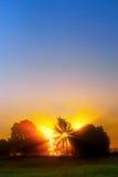 красивейший рассвет Стоковое Изображение RF