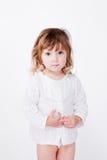 красивейший ребенок милый shy Стоковое Изображение RF