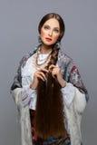 красивейший русский девушки Стоковое фото RF