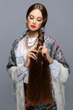 красивейший русский девушки Стоковое Изображение