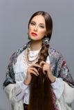 красивейший русский девушки Стоковые Изображения RF
