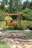 красивейший сад тропический Стоковые Фото