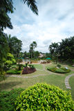 красивейший сад Стоковые Фотографии RF