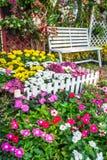 красивейший сад цветка Стоковое Фото