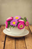 Красивейший сбор винограда тонизировал букет цветка Стоковые Изображения RF
