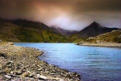 красивейший свет озера Стоковая Фотография RF