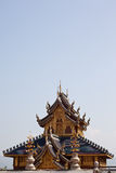 красивейший северный висок Таиланд Стоковая Фотография