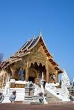 красивейший северный висок Таиланд Стоковые Изображения