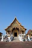 красивейший северный висок Таиланд Стоковые Изображения RF