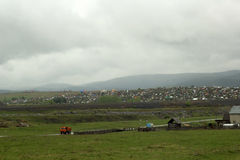 Красивейший сельский ландшафт стоковое изображение rf