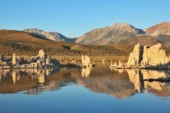 красивейший сказово заход солнца ландшафта стоковое фото rf