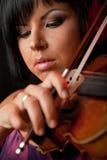 красивейший скрипач Стоковые Фотографии RF