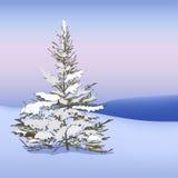 красивейший снежок катания на лыжах ландшафта назначения Стоковые Изображения
