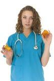 красивейший специалист в области здравоохранения внимательности Стоковое Изображение RF