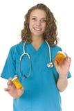 красивейший специалист в области здравоохранения внимательности Стоковые Изображения RF