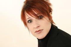 красивейший старый redhead 30 год Стоковые Изображения