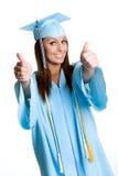 красивейший студент-выпускник Стоковое фото RF