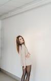 красивейший тип девушки способа Стоковое Фото