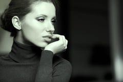 Красивейший тип Woman.Luxury стоковое изображение