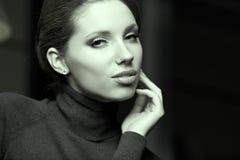 Красивейший тип Woman.Luxury Стоковая Фотография RF
