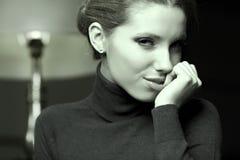 Красивейший тип Woman.Luxury Стоковое Изображение RF