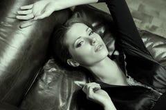 Красивейший тип Woman.Luxury стоковое фото rf