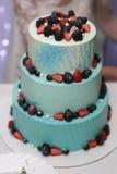 Красивейший торт венчания Стоковое Изображение RF