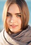 красивейший усмехаться девушки Стоковые Фото