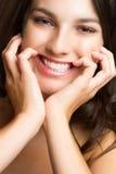 красивейший усмехаться девушки Стоковое фото RF