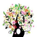 красивейший флористический вал Стоковые Фотографии RF